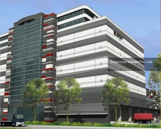 Muti tenanted logistics warehouse at jurong port road for 2 boon leat terrace