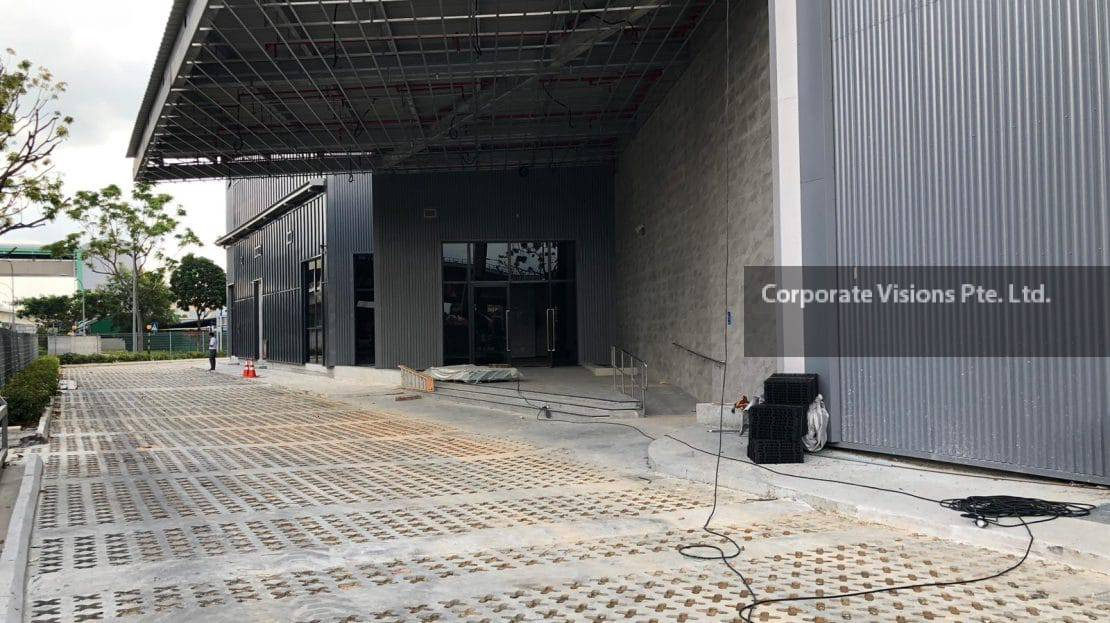 New tuas food warehouse for rent