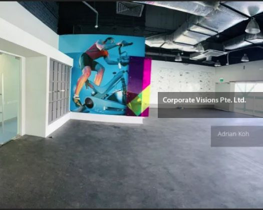 office rent, ENTIRE FLOOR: SEMI FITTED BP OFFICE with Roof Terrace, Recreation space, Fully Aircon with rooms