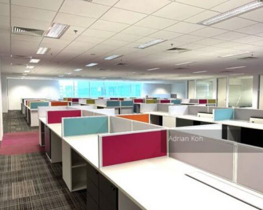 business park office space, MODERN FITTED & FURNISHED BUSINESS PARK OFFICE SPACE 2 mins' sheltered MRT Link with F&B downstairs
